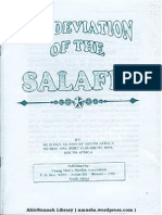 The Deviation of the Salafis