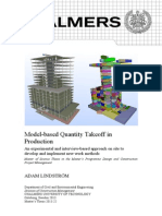 Model-Based Quantity Takeoff In
