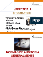 Normas de Auditoria