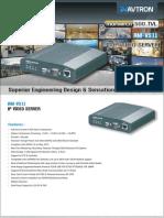 Avtron IP Video Server AM-VS11