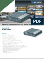 Avtorn IP Video Server AM-VS11-HD