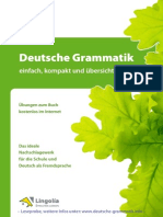 Deutsche Grammatik Leseprobe