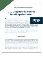 60732718 Les Origines Du Conflit Israelo Palestinien
