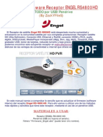 Manual Act Firm Engel Rs4800hd Por Usb