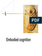 Embodied Cognition 2013