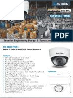 Avtron IR Varifocal Dome Camera AM-W566-VMR1