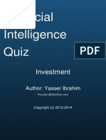 Financial Intelligence Quiz