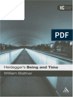 William Blattner - Heidegger's Being and Time - A Reader's Guide