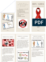 health hiv brochure