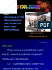 Presentation on Press Tool Design 01