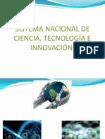 Sistema Nacional de Ciencia Tecnologia e Innovacion 1.