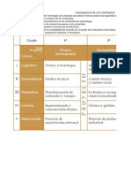 Planes Anuales de Computación de 1°, 2° y 3° de Secundarias Técnicas