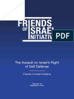 The Assault on Israel's Right of Self Defense