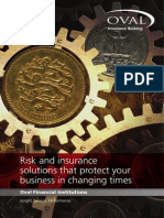 Financial Institutions Insurance Brochure