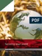 Oval Global Insurance Brochure