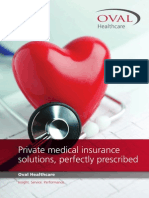 Oval Healthcare Insurance Brochure