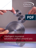 Oval Manufacturing Insurance Brochure