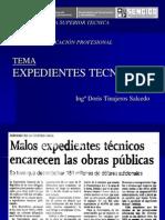 Clase Expedientes Tecnicos