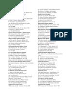 Hospital List in Metro Manila