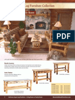 MWF Catalog 2010 Aspen Log Living Room Furniture