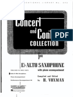 Concert and Contest - Alto Sax
