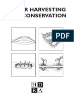 Water Harvesting and Conservation Booklet