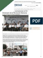 20-11-2013 'Maratónico desfile, conmemoran el CIII Aniversario de la Revolución Mexicana'.pdf