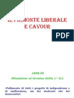 Il Piemonte Liberale e Cavour