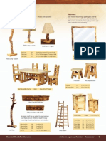MWF Catalog 2010 Aspen Log Dining Room Furniture Accessories