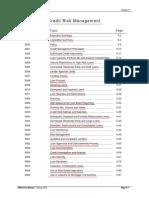 Credit Risk Management (Credit Management)