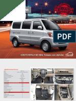 Ficha Tecnica Minivan