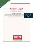 CIEN - Analisis Legal