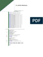 Listing n Program Modul 2