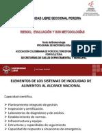 Capacitación inocuidad, análisis de riesgos ESTA