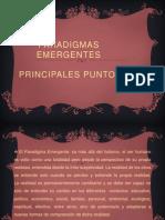 PARADIGMAS EMERGENTES