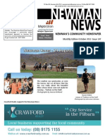 Newman News October 2013 Edition