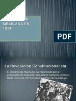 Revolucion Mexicana en 1914