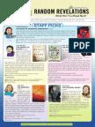 Random Revelations Spring 2014 Catalog