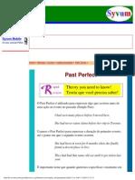 Curso de Inglês -- Past Perfect Tense