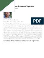 Delincuencia Gana Terreno en Tapachula