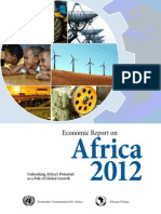 Economic Report on Africa 2012