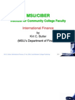 International Finance - Kirt Butler