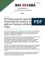 Boletín de DIARIO DE CUBA | Del 14 al 20 de noviembre de 2013