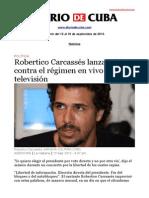 Boletín de DIARIO DE CUBA | Del 12 al 18 de septiembre de 2013