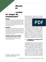 17274837 Michel Maffesoli Tribalista de Catedra Interfaces Sociais No Campo Da Comunicacao