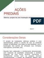 Instalações Prediais - aula 2