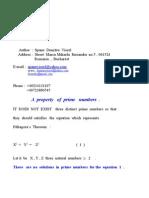 The Pithagora Theorem