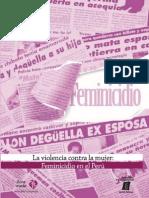 La Violencia contra la Mujer – Feminicidio en el Peru