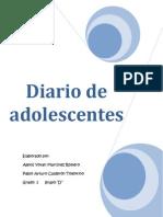Diario de Un Adolecente