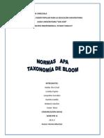 LAS NORMAS APA Y TAXONOMIA DE BLOOM.docx